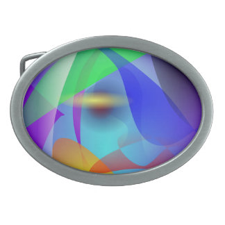 Difference Oval Belt Buckle