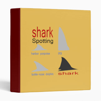 Difference between dolphin fins & shark fins binder