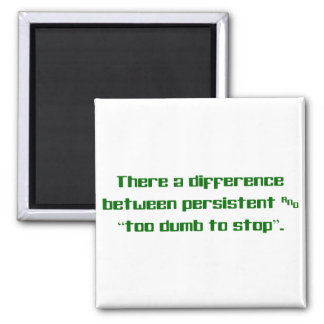Difference between persistent and stupid 2 inch square magnet