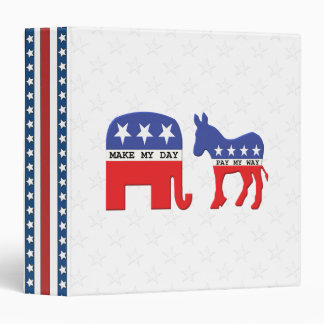 Difference Between Republicans and Democrats Funny Binder