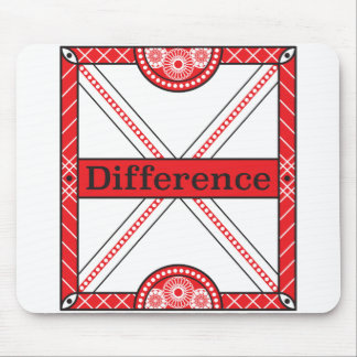 Difference Mouse Pad