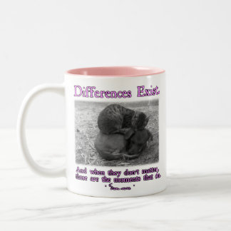 Differences Exist Two-Tone Coffee Mug