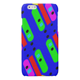 Different abstract pattern glossy iPhone 6 case