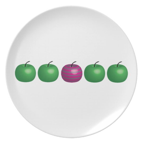 Different Apple Plate