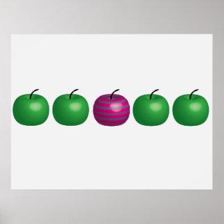 Different Apple Print