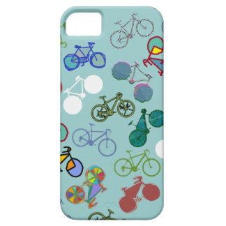 different bicycles cool pattern iPhone SE/5/5s case