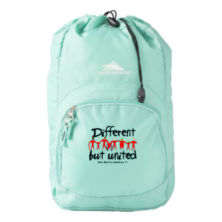 Different but United Template Add Your Logo Backpack