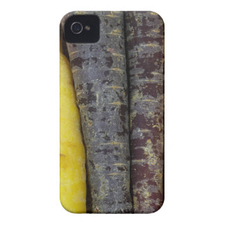 Different colored carrots iPhone 4 case