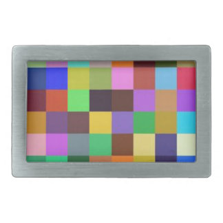 Different Colors, Different moments in life Rectangular Belt Buckle