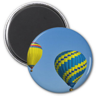 Different Colors Rising 2 Inch Round Magnet