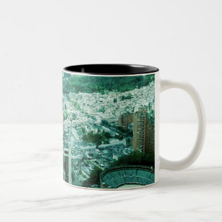 Different colors, the same City! Two-Tone Coffee Mug