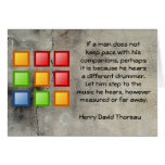 Different Drummer Stationery Note Card