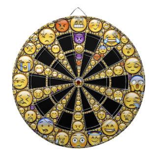 Different Emotions Round Design Dartboards