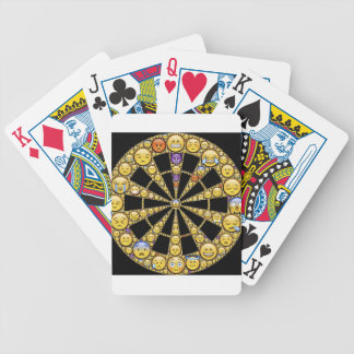Different Emotions Round Design Deck Of Cards