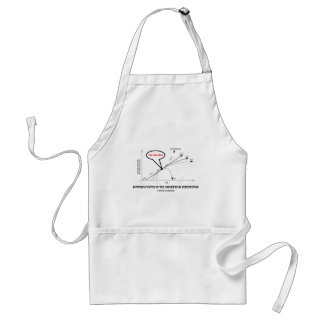 Different Fates Of The Universe In Perspective Adult Apron