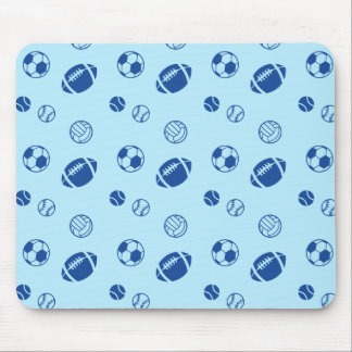 Different game balls pattern mouse pad