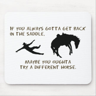 Different Horse Mouse Pad