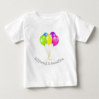 Different is beautiful baby T-Shirt