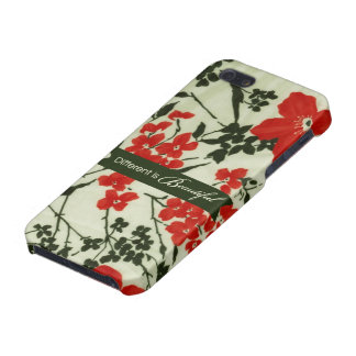 Different is beautiful vintage floral cover for iPhone SE/5/5s