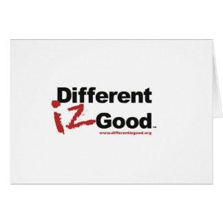 Different iz Good Card