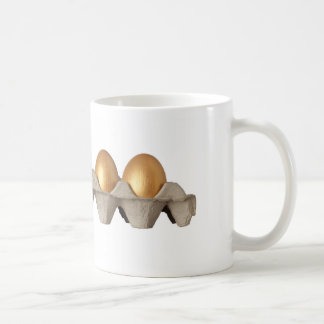 Different kind of egg classic white coffee mug