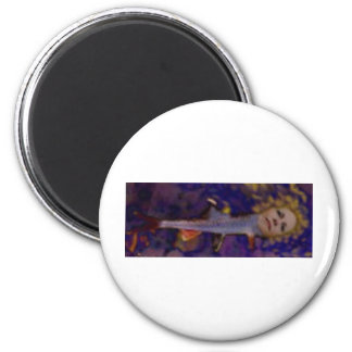 DIFFERENT KIND OF MERMAID 2 INCH ROUND MAGNET