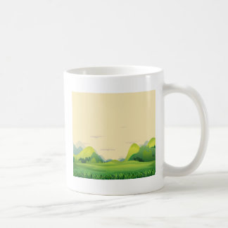 Different landforms coffee mug