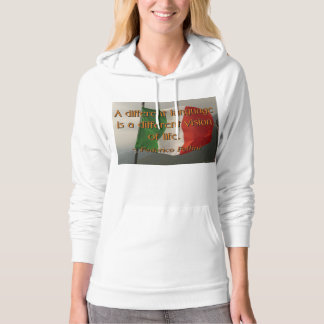 Different Language, Life Quote Pullover