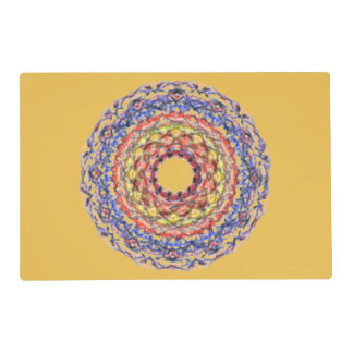 Different modern pattern placemat