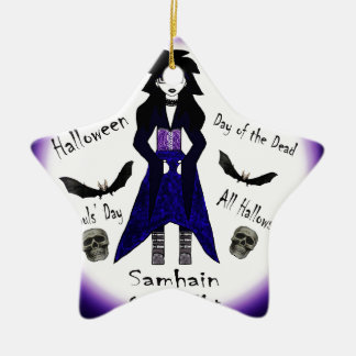 Different Names for Halloween Ceramic Ornament