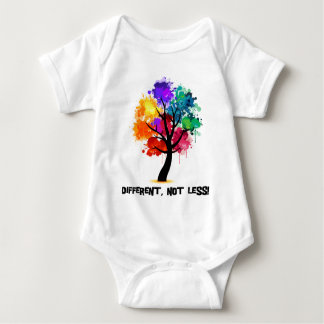 Different, not less baby bodysuit