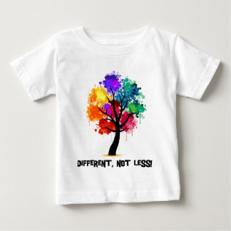 Different, not less baby T-Shirt