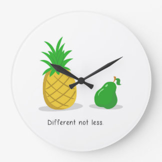 Different Not Less - Clock