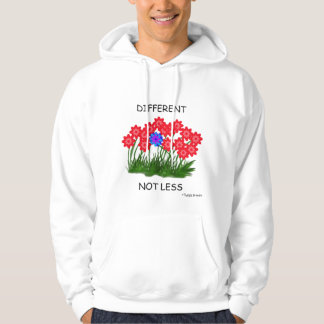 Different Not Less/HOODIE Hoodie