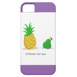 Different Not Less - iPhone Case (Purple)