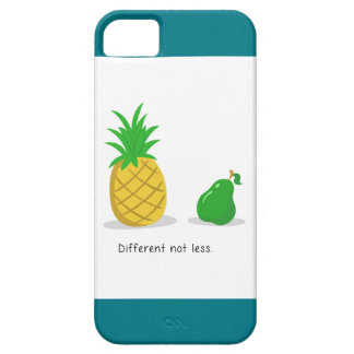 Different Not Less - iPhone Case (Turquoise)