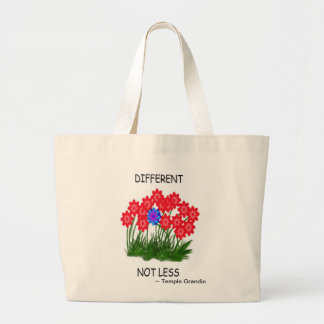Different Not Less/TOTE BAG