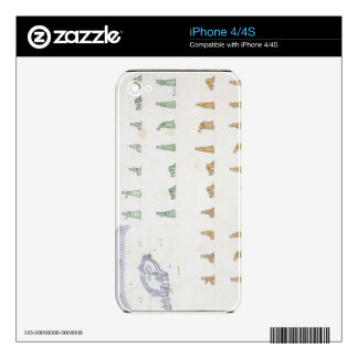 Different positions of the Body during Prayer from Skin For iPhone 4