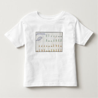 Different positions of the Body during Prayer from Toddler T-shirt