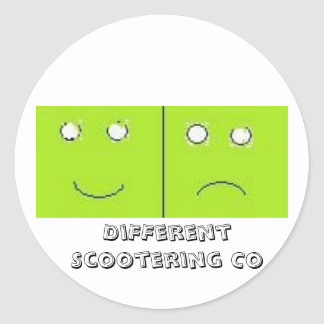 DiFFerent Scootering Co- Sticker sheet