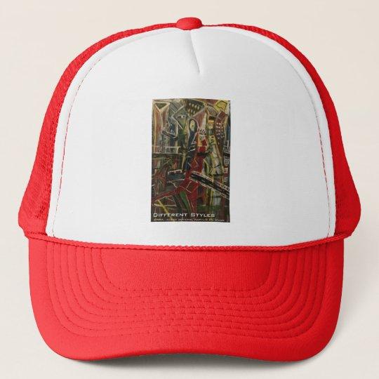 different styles trucker hat