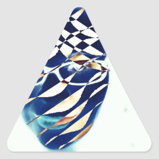 Different Triangle Sticker