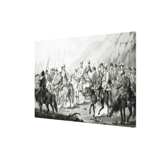 Different Tribes of Russian Cossacks Canvas Print