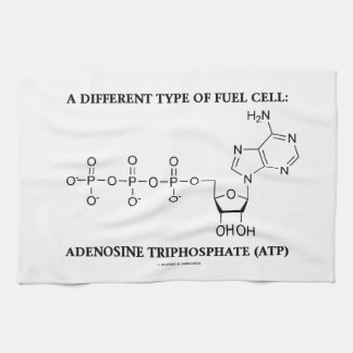 Different Type Of Fuel Cell Adenosine Triphosphate Kitchen Towel