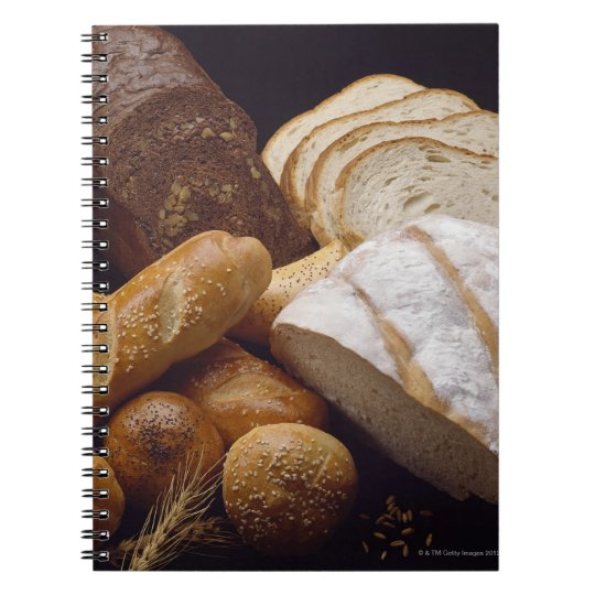 Different types of artisan bread notebook