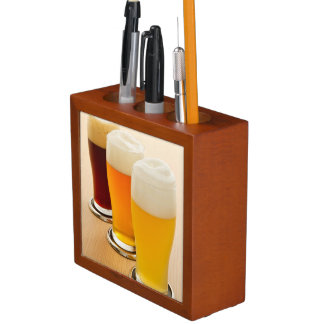 Different types of beer Pencil/Pen holder