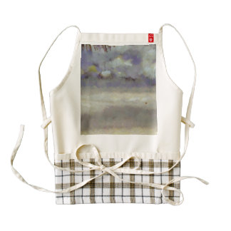 Different types of clouds zazzle HEART apron