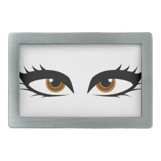 Different types of womens eyes belt buckle
