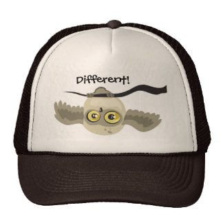 Different! Upside Down Owl Hat