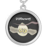 Different! Upside Down Owl~ necklace